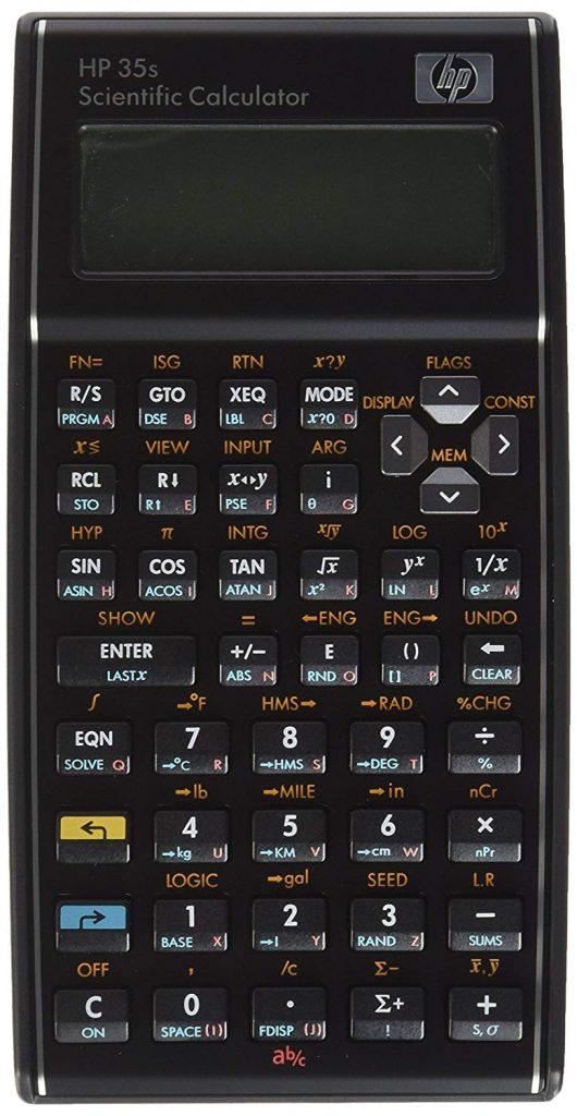 HP Scientific Calculatorfor Chemistry