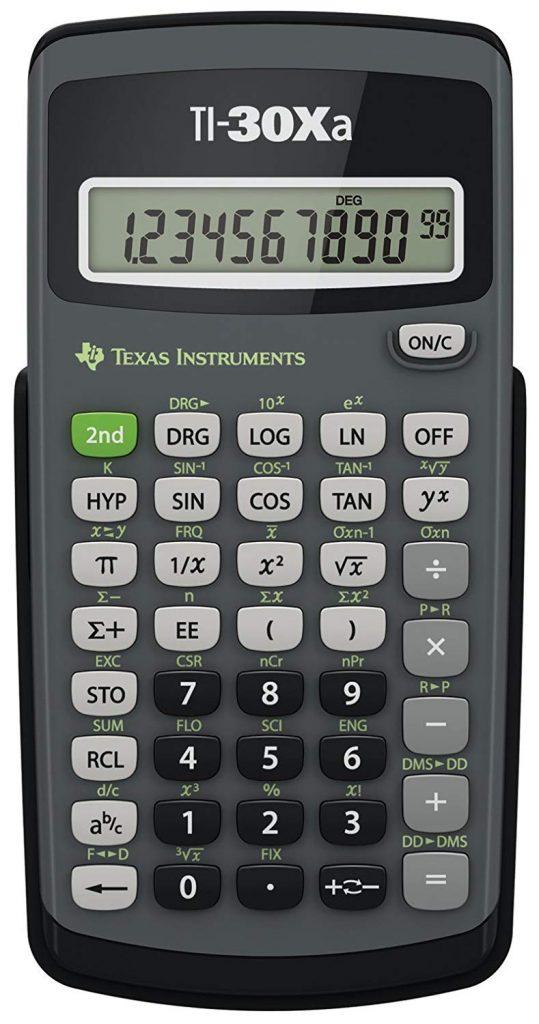 Texas TI-30Xa