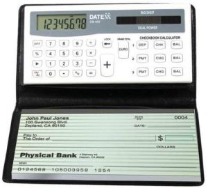 Datexx DB-403 3-Memory Checkbook Calculator