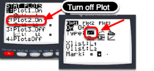 Turn off all the plot except one