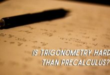 Is Trigonometry Harder Than Precalculus