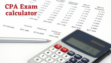 CPA Exam calculator