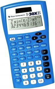 Texas Instruments TI-30X IIS Scientific Calculator – Blue